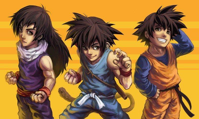 The Go team. Goku, Gohan, and Goten....GO GO GO! Like alt-art? Check awesome alt-art out here=> .. Did somebody say The Go Team? The Go team Goku Gohan and Goten GO GO! Like alt-art? Check awesome alt-art out here=> Did somebody say Team?
