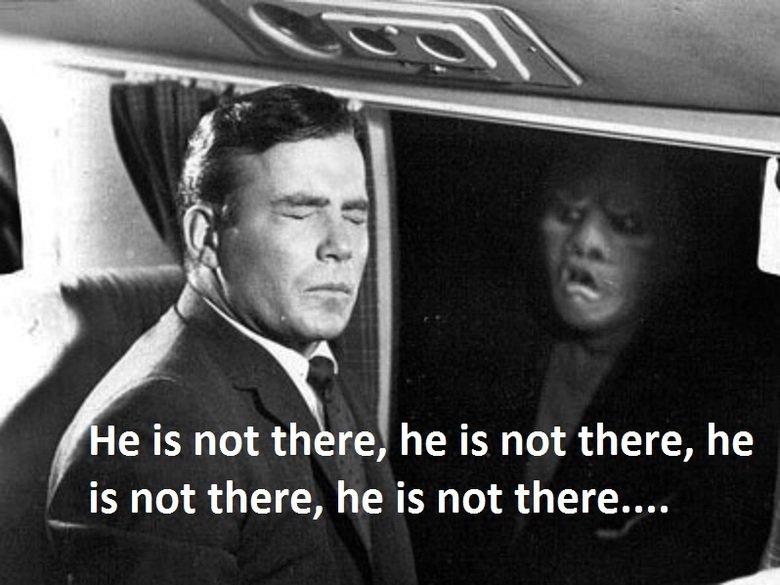 The good twilight. . Taa He is not re,' he is not there, he is not there, he is not there.... The good twilight Taa He is not re ' he there