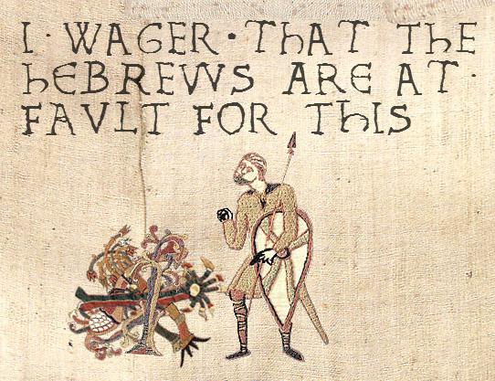The Jews. They getteth a badde rap.. jews medieval
