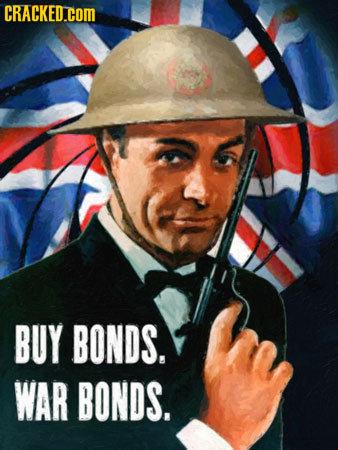The Names Bond.... propaganda bond. mrbart/ A . VIII! nouns. bond