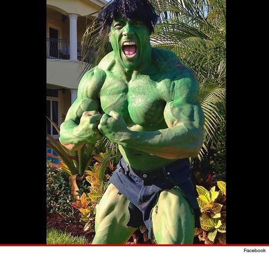 The Rock Wins Halloween. . the rock Hulk Halloween
