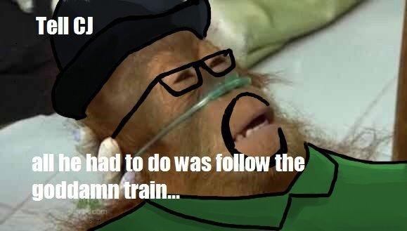 The train. Yep. trains crashes Cars sanchez