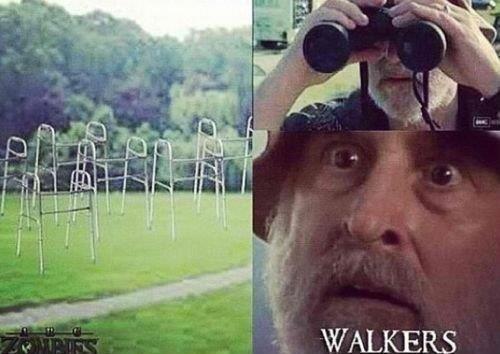 The walking walkers. . The walking walkers