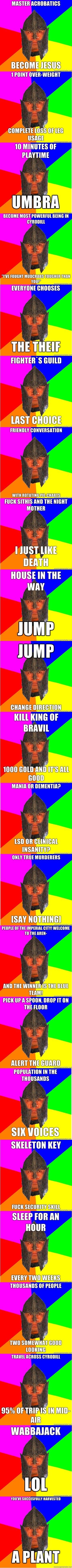 The Elder Scrolls, Oblivion Meme 2. Shouts to Mightymilk, OriginalTroll, and DobbieP for some ideas.<br /> Almost 100! Please folks!<br /> You can f Elder Scrolls oblivion meme