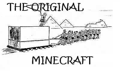 The Original Minecraft. .. great job The Original Minecraft great job