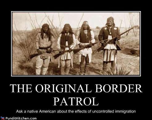 The Original border Patrol. native americans. THE ORIGINAL BORDER PATROL ixom. i have this shirt, i like the back much better The Original border Patrol native americans THE ORIGINAL BORDER PATROL ixom i have this shirt like the back much better