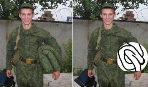 Them Photoshop Skillz. .. He looks very army. Them Photoshop Skillz He looks very army