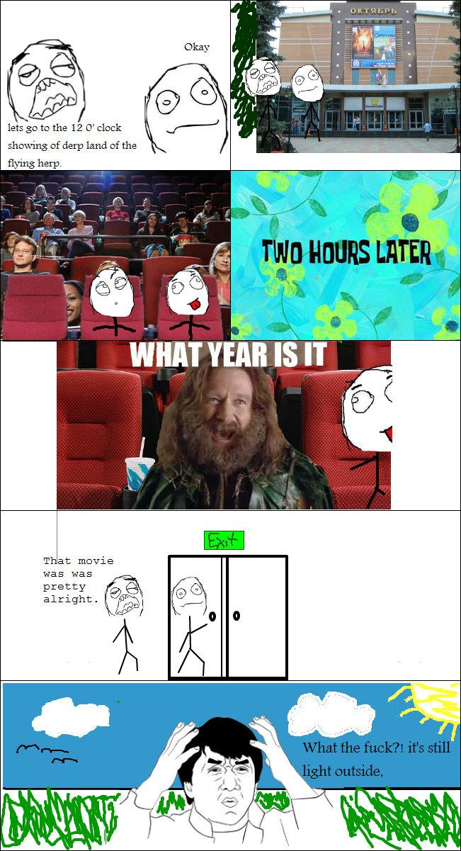 this always happens to me. o.c.. T at movie was was pretty Iti at killt I mil tetrasodium Movie theatre dark Light Time