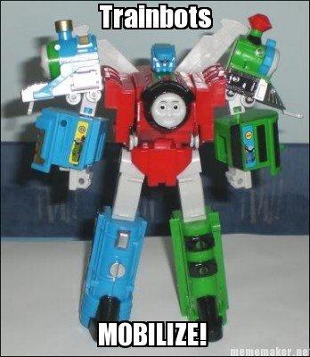 Thomas the Wut. All aboard for Tags!. choo choooo