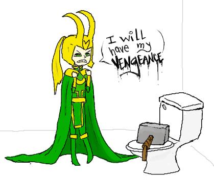 Thor's prank. who's the god of mischief now.. Next. Loki