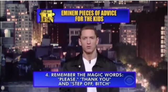 "Three Magic Words. . III! d, REMEMBER THE MAGIC : THANK YOU"" AND 'STEP OFF, BITCH"" Three Magic Words III! d REMEMBER THE MAGIC : THANK YOU"" AND 'STEP OFF BITCH"""