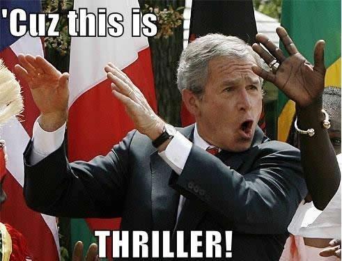 Thriller. . Thriller george