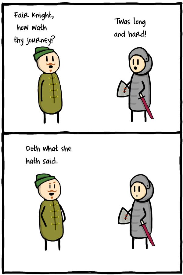 Thus oldest burneth. . Goth mrhat. she ham Said.. Thou shalt not maketh penis jokes unto thine neighbor. lol thats what she said bitch