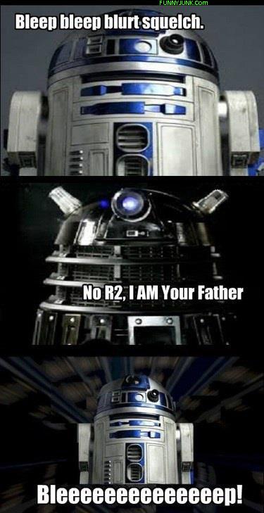 Title. (:. Com lillte , an M, I an Your rather Dalek vader star wars