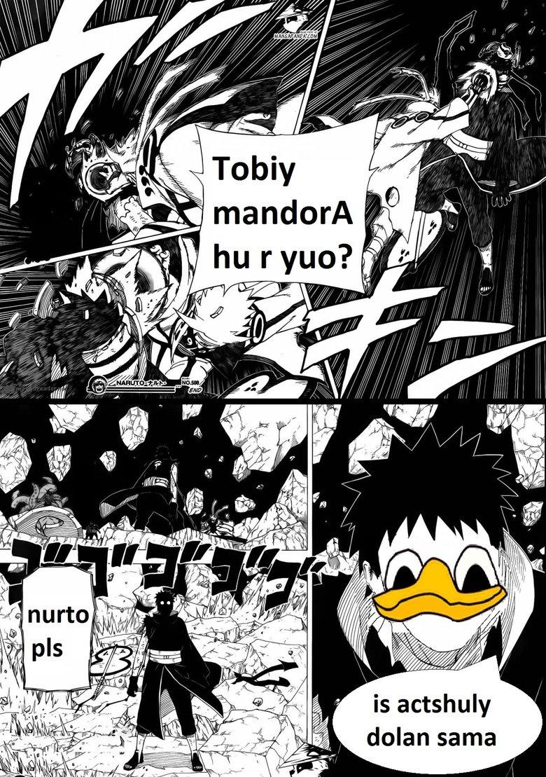 tobiy is actchualy dolan sama. nurto pls. dolan Naruto tobi madara Obito manga Anime sama Japan