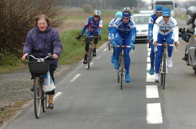 Tom Boonen (world champion) on the right. . Tom Boonen (world champion) on the right