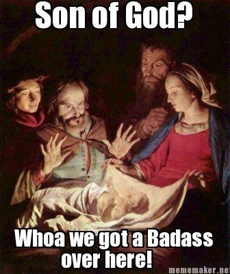 Too Cool Jesus.......... Dat Jesus. an at End? Jesus is Noob
