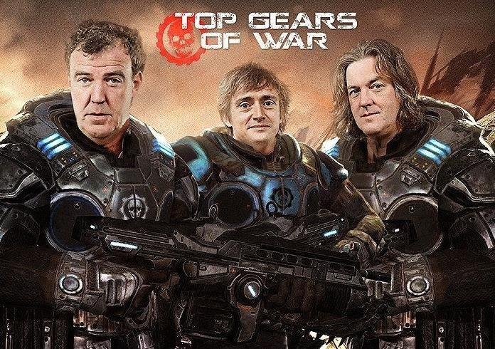 Top Gears Of War. .. Gif very much related. top Gear gears of War