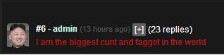 """Totally Legit. Ban me you faggot. Hal (fila replies). You misspelled """"and"""", OP Totally Legit Ban me you faggot Hal (fila replies) You misspelled """"and"""" OP"""