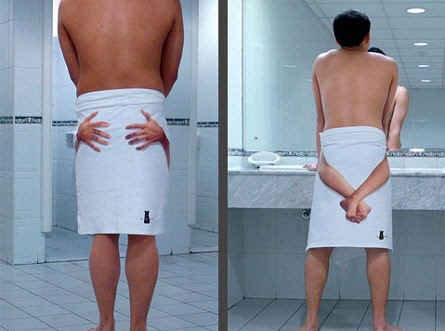 Towel funny. . towel towel badroom