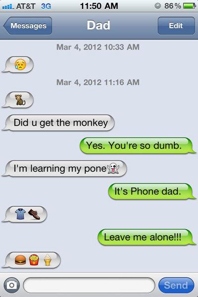 Troll dad likes to troll.. What a legend.. Mar 4, 2012 10: 33 AM Mar 4, 2082 11: 13 AM JOE) t Did u get the monkey ) trolling