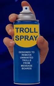 troll spray. .. It's not working. troll spray It's not working