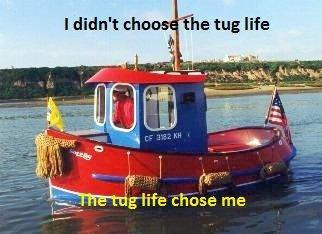 Tugboats. . Fucking Tugboats