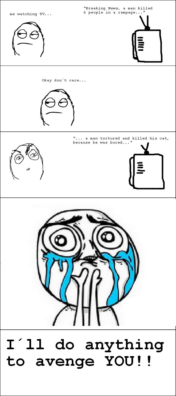TV. . I' ll do anything to avenge YOU!! TV I' ll do anything to avenge YOU!!