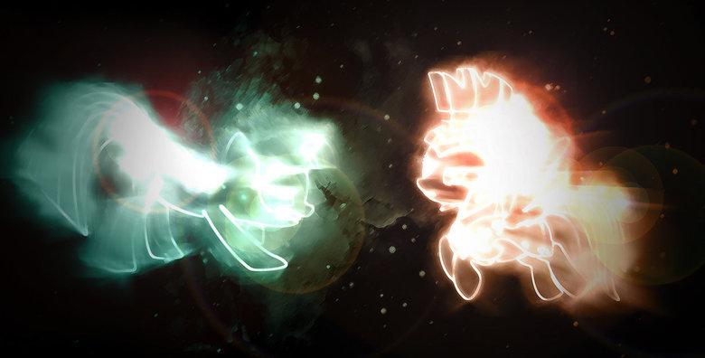 Twilight Sparkle and Rainbow Dash. Description. twilight sparkle