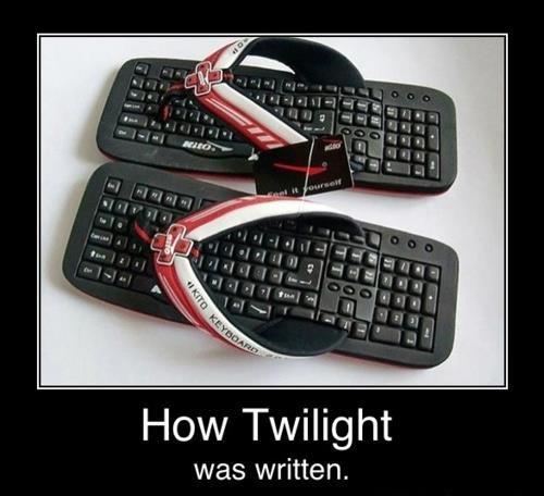 twilight. . How Twilight was written. twilight was written by a potato