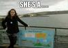 She's A....