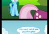 Why Rainbow Dash always flys fast